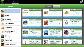 Screenshot of Grocery iQ - Tablet