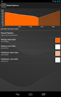 Screenshot of Gauge Battery Widget 2014