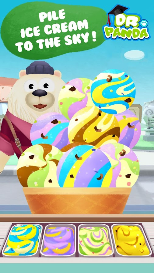 Dr. Panda's Ice Cream Truck Screenshot 10