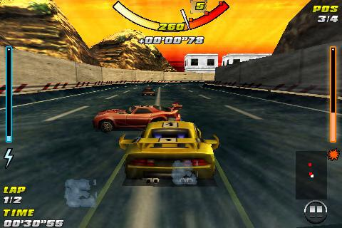 raging-thunder-free for android screenshot
