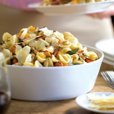 Roasted Butternut and Bacon Pasta