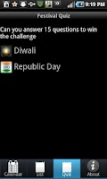 Screenshot of Desi Calendar