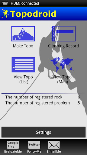 Topodroid For Rock Climber