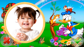 Screenshot of Baby Frames Collage