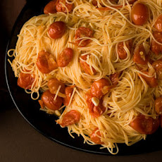 Angel Hair Pasta with Spicy Vodka Sauce Recipe