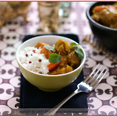 Mild Indian Lamb Curry