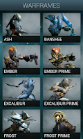 Screenshot of Warframe Nexus