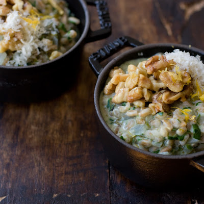 Seaweed Risotto
