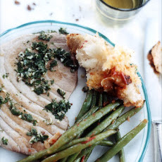 Tuna Steaks With Mint Sauce