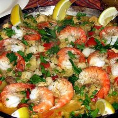 Traditional Paella