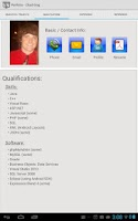 Screenshot of CTK Resume