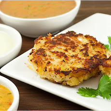 Pan-Asian Crab Cakes With Three Dipping Sauces