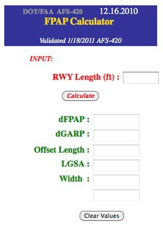 TERPS Calculator