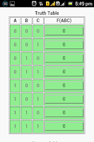 Screenshot of KMap Solver