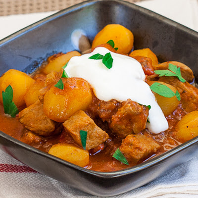 Pork and Potato Stew