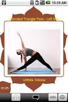 Screenshot of Yoga Trainer Lite 2