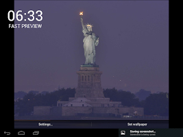 Screenshot of Liberty LIVE Wallpaper (Demo)
