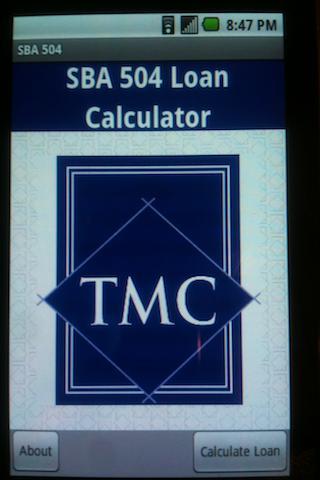 SBA 504 Loan Calculator