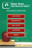Screenshot of Iowa AEA Directory
