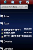 Screenshot of Exchange ActiveSync for Phones