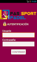 Screenshot of Fas Sport Padel
