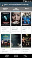 Screenshot of pFlix: Philippine Cinemas