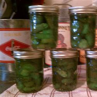 Eight-Day Icicle Pickles