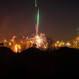 NewYearsEve by Roland Hasert - News & Events World Events ( new year, event, magical, germany, eschweiler, city, new, year )