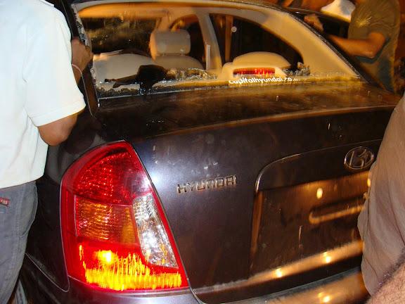 Shaheen Bagh Kidnap Case, Black Hyundai