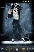 Screenshot of Michael Jackson's Dance LWP