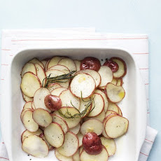 15-Minute Rosemary-Garlic Potatoes