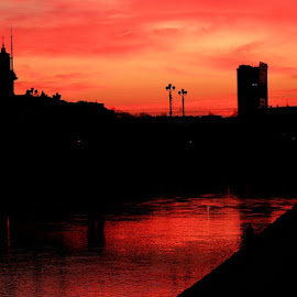 Like a blood by Evaldas Kazragis - City,  Street & Park  Skylines