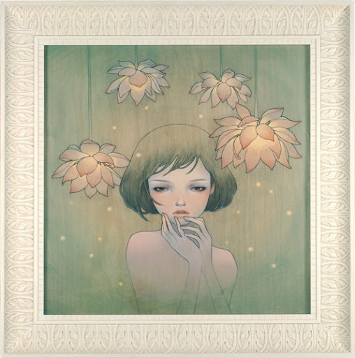 Two lovely new prints from Audrey Kawasaki are heading our way.