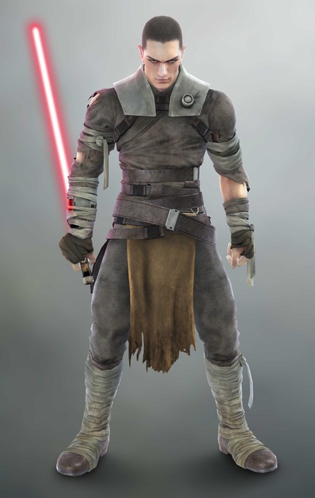 secret apprentice star wars, soul calibur IV