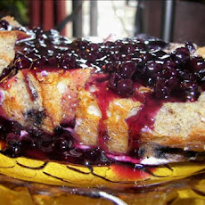 Freezer Blueberry French Toast Casserole