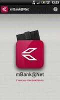 Screenshot of mBank@Net