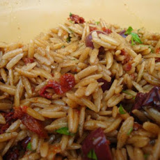 Orzo Salad With Sun-Dried Tomatoes