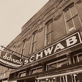 Schwab by Deborah Russenberger - Buildings & Architecture Other Exteriors ( sepia,  )