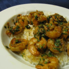 Spanish Style Garlic Shrimp With Capers