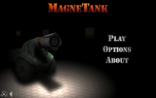 Screenshot of MagneTank