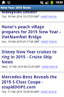 Screenshot of NEW YEAR 2015