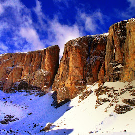 Sella's group in Dolomites by Marco Poli - Landscapes Mountains & Hills