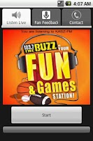 Screenshot of 103.7 The Buzz - Sports Talk