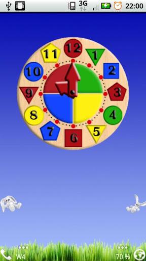 Kids Clock Widget