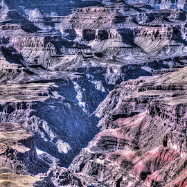 Grand Canyon HDR by Lena Sandoval-Stockley - Landscapes Caves & Formations ( hdr, the grand canyon, arizona, rocks )
