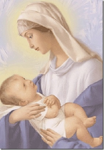 Hermosa Maria, Madre de Dios