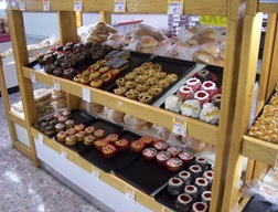 Baked goods at Soriana Mercado