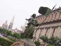 Statue in Gaud