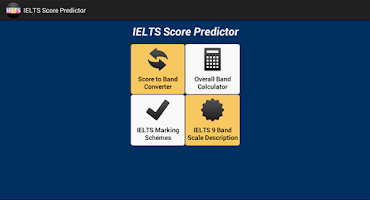 Screenshot of IELTS Score Predictor