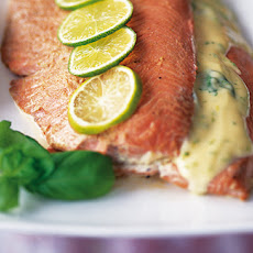 Basil And Lime Salmon